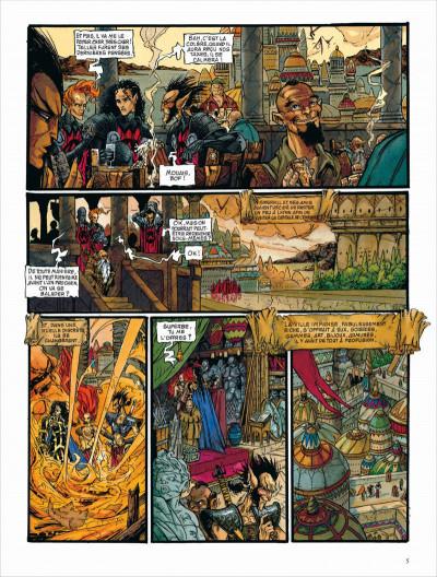 Page 5 Les chroniques de la lune noire - intégrale tome 3