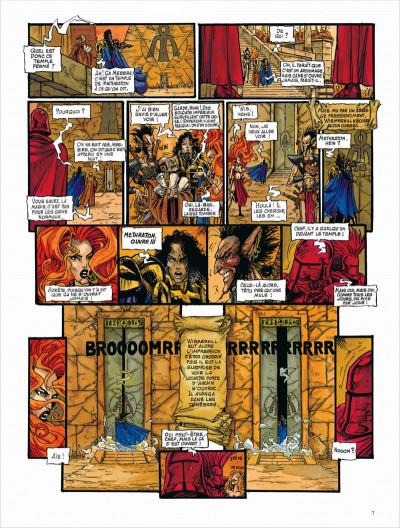 Page 7 Les chroniques de la lune noire - intégrale tome 3