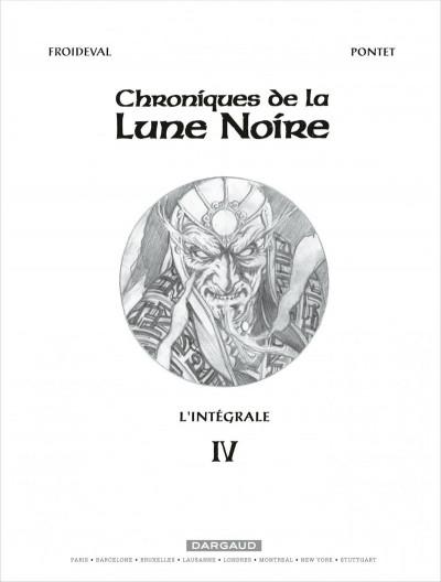 Page 1 Les chroniques de la lune noire - intégrale tome 4