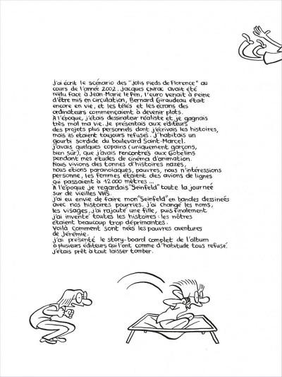 Page 6 Les pauvres aventures de Jérémie - intégrale