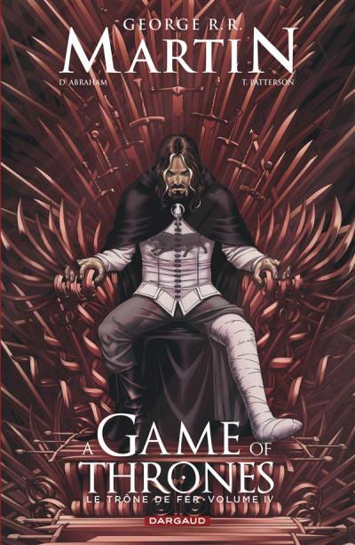 Couverture A game of thrones - le trône de fer tome 4