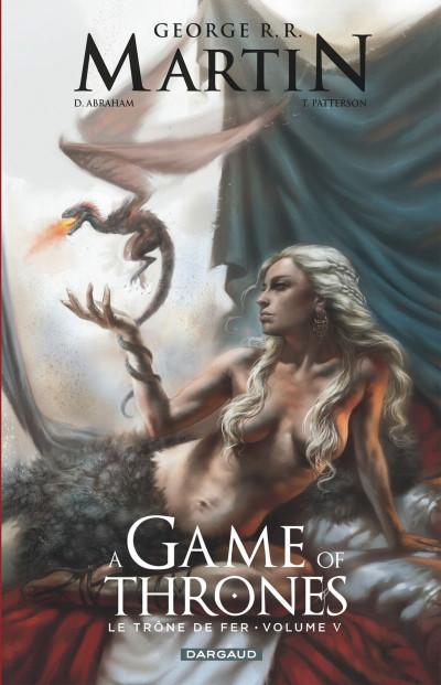 Couverture A game of thrones - le trône de fer tome 5
