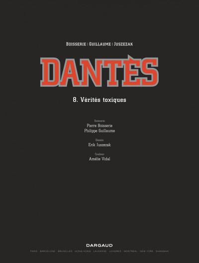 Page 1 Dantès tome 8
