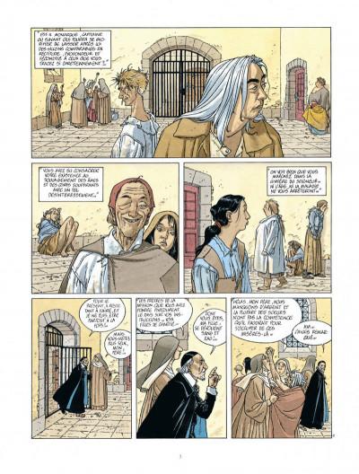Page 3 Les 7 vies de L'épervier - 2ème Cycle tome 1