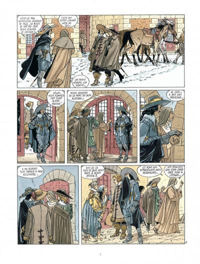 Page 5 Les 7 vies de L'épervier - 2ème Cycle tome 1