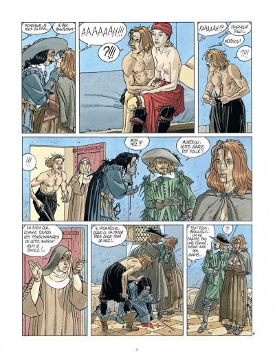 Page 8 Les 7 vies de L'épervier - 2ème Cycle tome 1