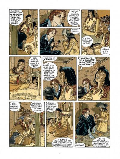 Page 4 Les 7 vies de L'épervier - 2ème Cycle tome 2