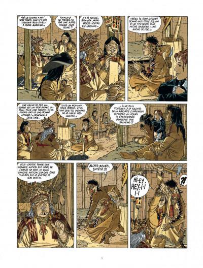 Page 5 Les 7 vies de L'épervier - 2ème Cycle tome 2