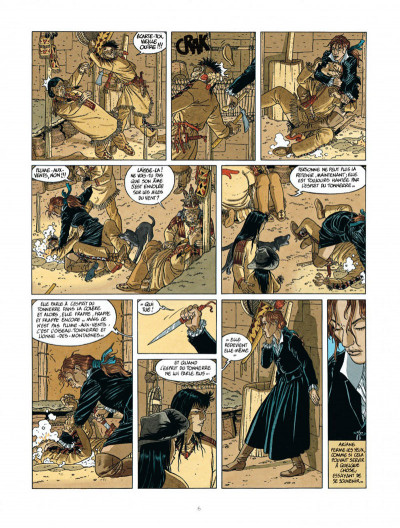 Page 6 Les 7 vies de L'épervier - 2ème Cycle tome 2