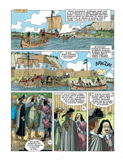 Page 7 Les 7 vies de L'épervier - 2ème Cycle tome 2
