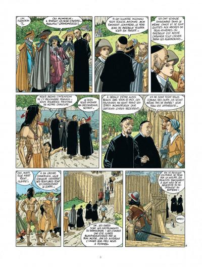 Page 8 Les 7 vies de L'épervier - 2ème Cycle tome 2