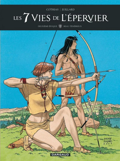 Couverture Les 7 vies de L'épervier - 2ème Cycle tome 3