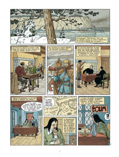 Page 3 Les 7 vies de L'épervier - 2ème Cycle tome 3