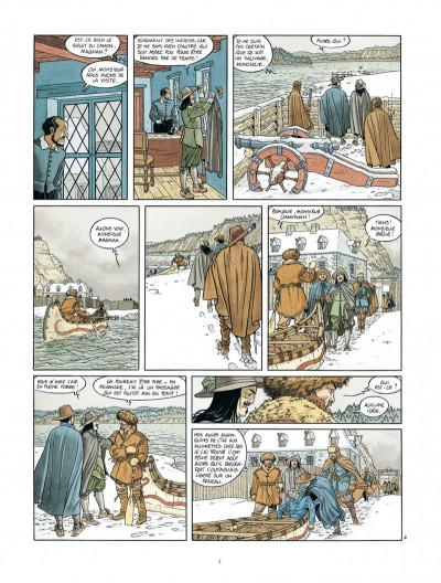 Page 4 Les 7 vies de L'épervier - 2ème Cycle tome 3