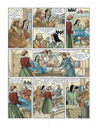 Page 7 Les 7 vies de L'épervier - 2ème Cycle tome 3