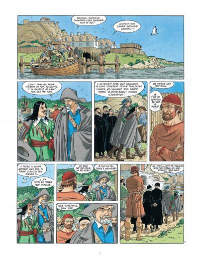 Page 3 Les 7 vies de L'épervier - 2ème Cycle tome 4