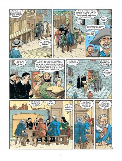 Page 4 Les 7 vies de L'épervier - 2ème Cycle tome 4