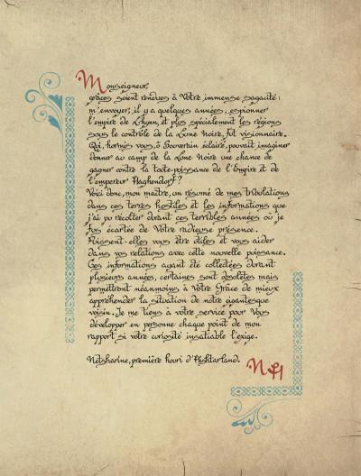 Page 3 les chroniques de la lune noire - l'empire de la négation