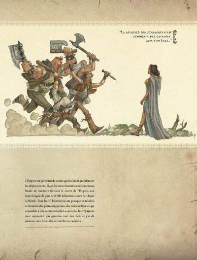 Page 7 les chroniques de la lune noire - l'empire de la négation