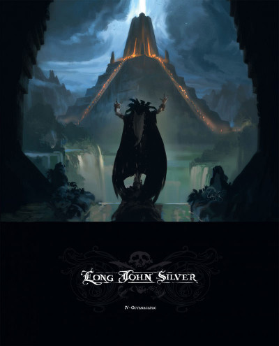 Couverture Long John Silver tome 4 - Guyanacapac (édition luxe)