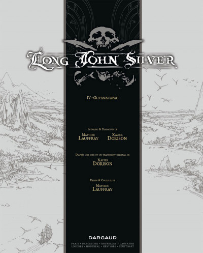 Page 3 Long John Silver tome 4 - Guyanacapac (édition luxe)