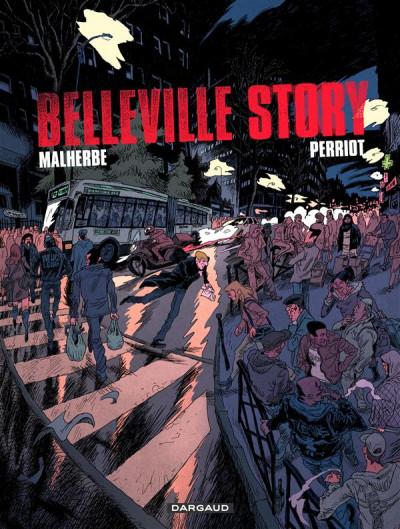 Couverture Belleville story - intégrale