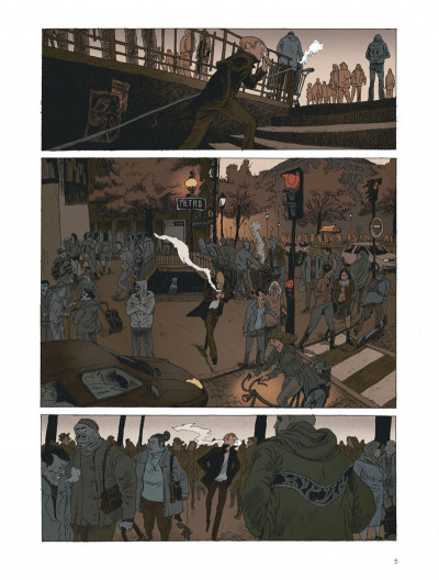 Page 5 Belleville story - intégrale