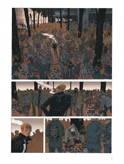 Page 7 Belleville story - intégrale