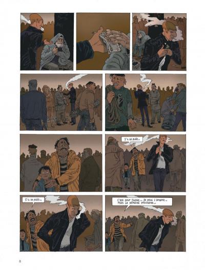Page 8 Belleville story - intégrale