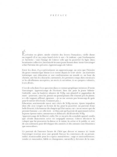 Page 5 Les apprentissages de Colette + ex-libris offert
