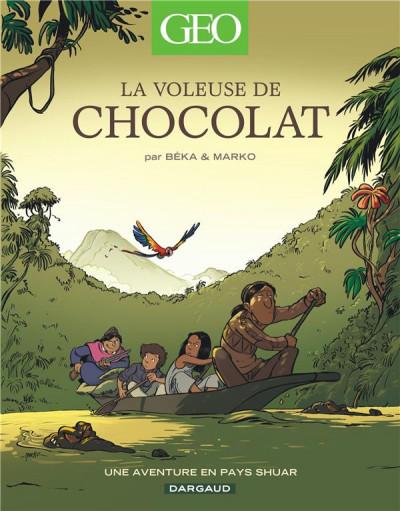 image de La voleuse de chocolat