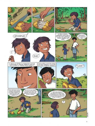 Page 5 La voleuse de chocolat