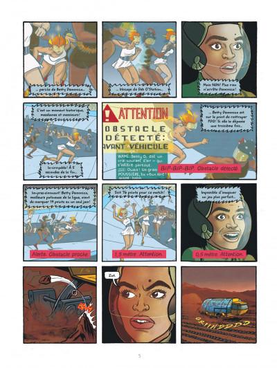 Page 5 Rollergirl sur mars - intégrale