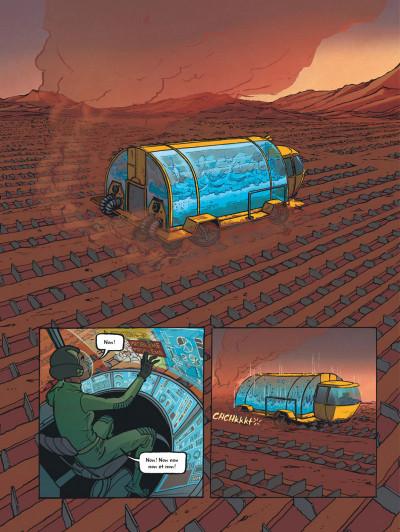 Page 6 Rollergirl sur mars - intégrale
