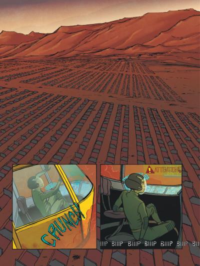 Page 7 Rollergirl sur mars - intégrale
