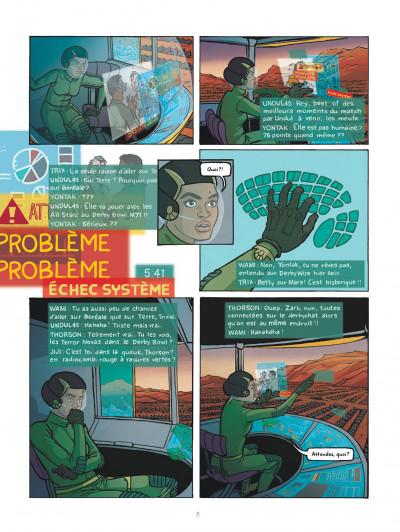 Page 8 Rollergirl sur mars - intégrale
