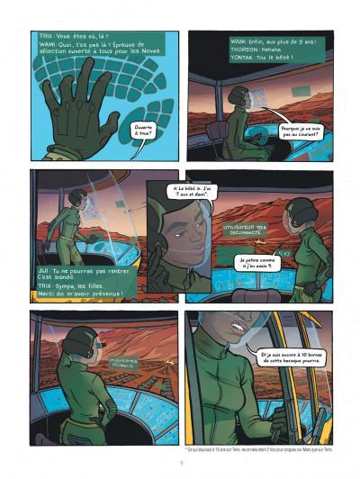 Page 9 Rollergirl sur mars - intégrale