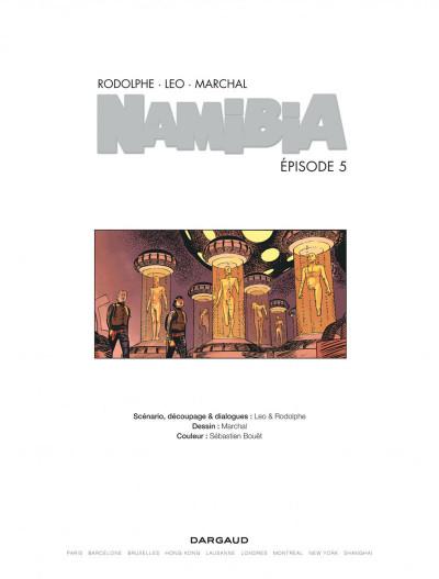 Page 1 Namibia tome 5 - Kenya saison 2
