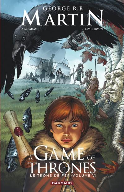 Couverture A game of thrones - le trône de fer tome 6