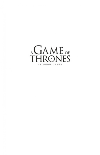 Page 1 A game of thrones - le trône de fer tome 6