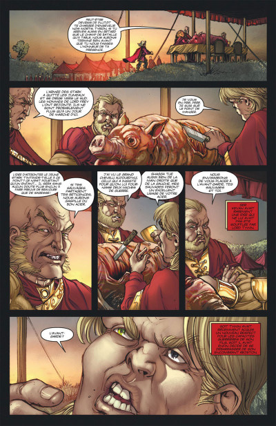 Page 5 A game of thrones - le trône de fer tome 6