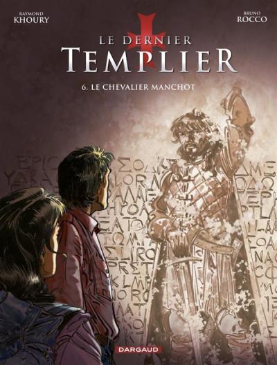 Couverture Le dernier templier tome 6