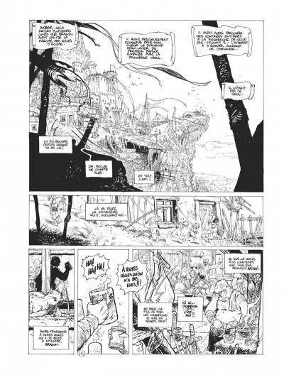 Page 5 Avant la quête édition spéciale Tomes 3 et 4 (N&B)