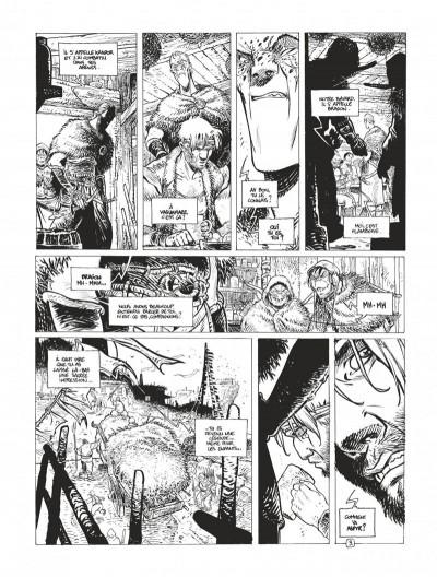 Page 7 Avant la quête édition spéciale Tomes 3 et 4 (N&B)