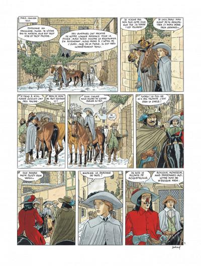 Page 7 Tirage de tête Les 7 vies de l'épervier 3ème époque