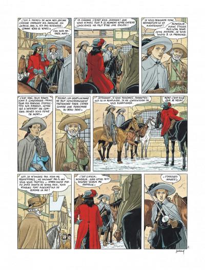 Page 8 Tirage de tête Les 7 vies de l'épervier 3ème époque