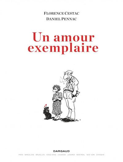 Page 1 Un amour exemplaire