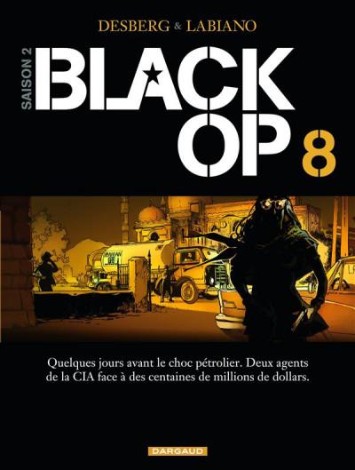 Couverture Black op tome 8