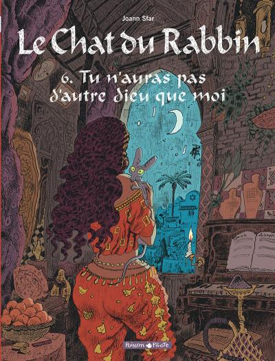 Couverture Le chat du rabbin tome 6