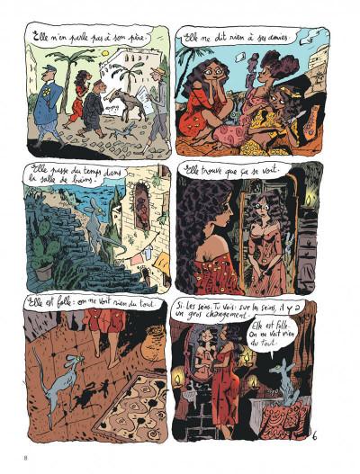 Page 8 Le chat du rabbin tome 6